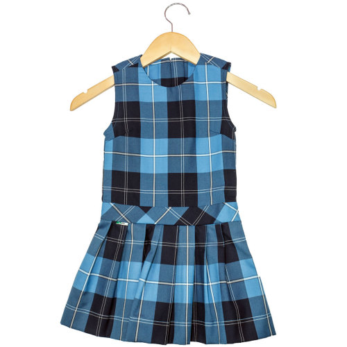 Tunic (Plaid 53) (Blue)